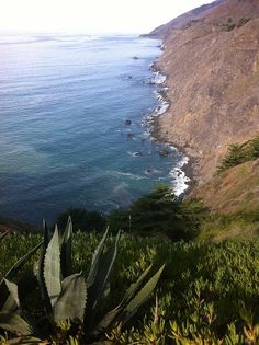View of the Pacific from the Ragged Point Inn, Big Sur, California
