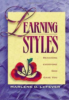 Learning Styles by Marlene LeFever http://www.amazon.com/dp/0781451175/ref=cm_sw_r_pi_dp_uFXTtb0YETT73GX4