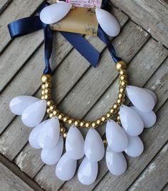 White Bib Necklace  $19.95  http://www.giddyupglamouronline.com/catalog.php?item=7090