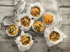 Grove gulrotmuffins med yoghurt