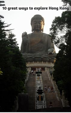 """The colossal Tian Tan Buddha is one of the world's largest statues of the Buddha 