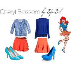 """Cheryl Blossom"" by bforbel on Polyvore"