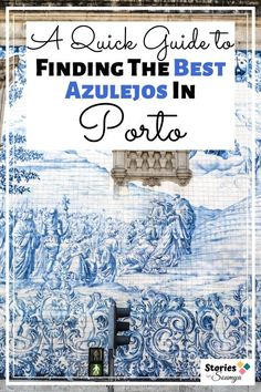 Wondering where to see the best azulejos in Porto? Here are 8 recommendations for you to check out. Instagrammable walls, picture-perfect postcards, and less-visited sites - we have them all. #visitporto #visitportoandnorth #portugaltravel #travelforart #azulejostile #azulejospainting #bluetiles #portuguesetiles #culturaltravel