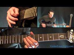 Master of Puppets Guitar Lesson - Metallica - Rhythms Guitar Chords For Songs, Guitar Sheet Music, Guitar Solo, Acoustic Guitar, Guitar Parts, Music Lessons, Guitar Lessons, Metallica, Guitar Riffs