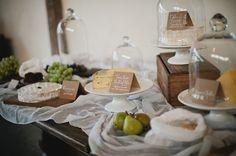 Wedding food ideas - cheese table  More Wedding Food Ideas at: www.RealWeddingDay.com