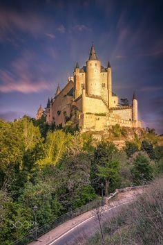 Castle of Segovia in Spain. Alcázar of Segovia by Paulo Costa on 500px