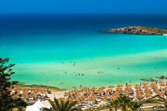 Cyprus Agia Napa Nissi Beach