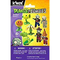 K'NEX Plants vs. Zombies Mystery Figures, Series 1