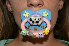 Mens Binky Boy Pacifier Tee for ABDL