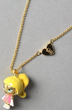 awesome nOir The Tokidoki x Barbie x nOir Girly Necklace,Jewelry for Women