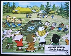 RACE FOR YOUR LIFE CHARLIE BROWN 1977 Lobby Card 5