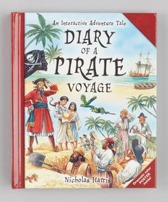 Take a look at this Diary of a Pirate Voyage Hardcover on zulily today!
