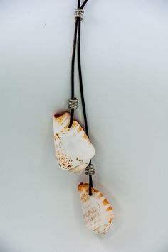 Beach Necklace Summer Jewelry Seashell Necklace by DevikaBox, $22.00