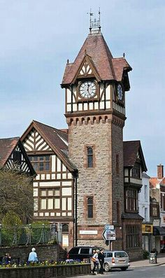 Ledbury Clock Tower, Herefordshire, England