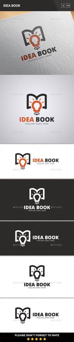 Idea Book Logo Template
