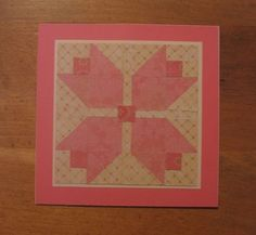TLC254 Tulips Quilt pattern by Carolynn - Cards and Paper Crafts at Splitcoaststampers