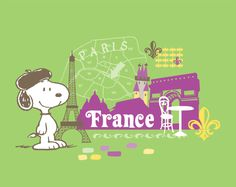Snoopy in France