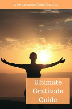 How To Practice Gratitude: The Ultimate Guide | Two Steps From Bliss | Developing a positive and grateful mindset is a huge part of building your meditation practice, but many people don't know how to practice gratitude in an enjoyable and consistent way. This guide will show you how! #twostepsfrombliss #gratitudeaffirmations #dailygratitudejournal Meditation Practices, Spiritual Practices, Mindfulness Meditation, Prayers Of Gratitude, Practice Gratitude, Critical Mind, Different Exercises, Spiritual Path, Peace On Earth
