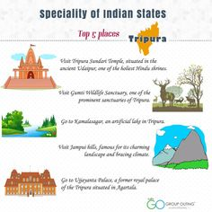 Top 5 ‪#‎destinations‬ you must visit while in ‪#‎Tripura‬ ‪#‎GroupOuting‬ ‪#‎GoGroupOuting‬
