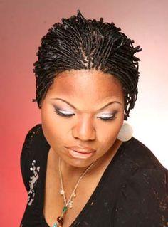 Gallery of Short Locs | Adunni's Braids & Locs - Braiding Shop : Style Gallery : BlackStylists ...
