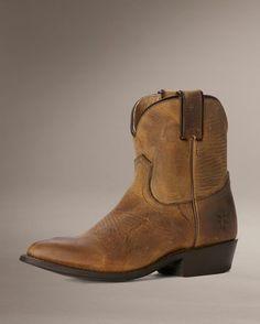Women's Old Town Billy Short Boot - Dark Brown