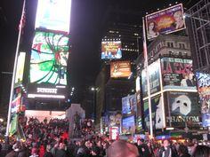 New York, gotta love it. Broadway is the best !!