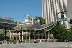 Beehive house, Eagle Gate, LDS Headquarters. Salt Lake City, Utah