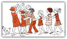 Αναμνήσεις από το μέλλον του χθές : Τα ξεχασμένα παλιά παιχνίδια,  Περνά, περνά η Μέλι... Team Games, Spring Activities, Old Games, Flower Fairies, In Kindergarten, Childrens Books, Peanuts Comics, Anime, Fictional Characters