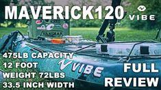 Vibe Kayaks Maverick 120 FULL Review - Flat Deck Versatility Kayak Fishing