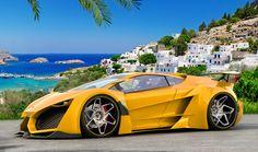 Delicieux Yellow Car Lamborghini Sinistro