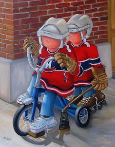 toiles de hockey Hockey Girls, Happy Paintings, Sports Art, Tole Painting, Learn To Paint, Christian Art, Cool Baby Stuff, Cute Art, Folk Art