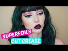 SuperFoils Cut crease | LimeCrime - YouTube