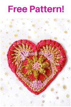 This is a beautiful free pattern from hooksntales called Meiringspoort Heart! Christmas Hearts, Heart Ornament, Crochet Designs, Free Pattern, Christmas Decorations, Ornaments, Photo And Video, My Love, Beautiful