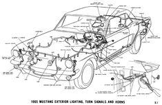 1965 Mustang Wiring Diagrams Mustang 1965 mustang