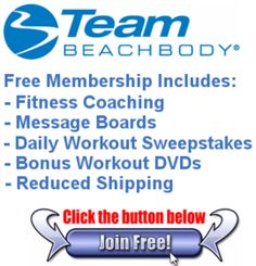 Start your New Years Resolution off right!  Free coaching and support from me who lost 136lbs with P90X/Shakeology and was this years Beachbody Challenge Champion.  Click the picture to join for FREE!