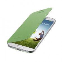 Forro Samsung Galaxy S4 Flip Cover Original - Amarilla Verde  Bs.F. 201,76