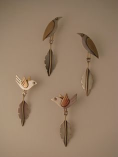 These are some bird earrings from Ahlene Welsh.  Her page has lots of beautiful and creative eye candy.