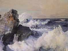 frederick judd waugh paintings - Google Search