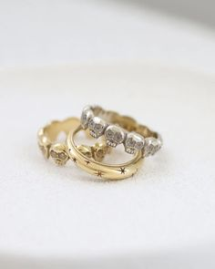 Celestial Ring/ 14k solid gold | yajewelry
