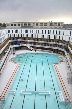 La réouverture de la piscine Molitor