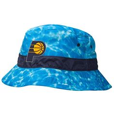 79c3e9411d4 Indiana Pacers Mitchell Ness NBA Surf Camo Bucket Hat    Check out the  image by visiting the link.
