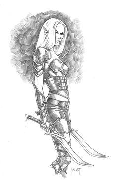 Dark Elf By MitchFoust On DeviantART