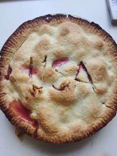 raspberry peach pie! from the 4th!