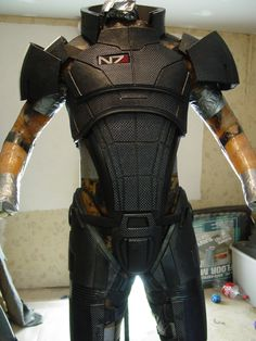 N7 Armor worn by Shepard in ME3. Retails for $650