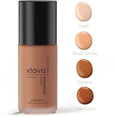 xtava Sheer Matte Liquid Foundation with SPF 30 - Natural, Luminous, Professional Quality Formula with Buildable Coverage - Cruelty Free Makeup - Crafted in Korea (Soft Cocoa) ** Read more  at the image link.