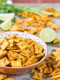 *except I would minus the cilantro.Mexican Spice Cheese Crackers, perfect for any party of for tailgating! Made with cheese-its, taco seasoning, and cilantro! SO ADDICTING! Bite Size Appetizers, Mexican Appetizers, Finger Food Appetizers, Easy Appetizer Recipes, Appetizers For Party, Mexican Food Recipes, Quick Appetizers, Appetizer Ideas, Party Recipes