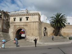 BEEN THERE, SHOPPED THERE:  Bab el-Okla, the eastern gate of Tetouan's medina