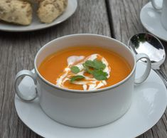 Recipe Sweet Potato and Red Lentil Soup by foodieforever - Recipe of category Soups