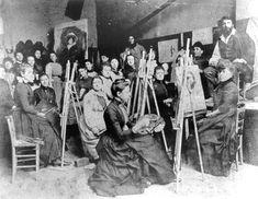 """Academie Julian,"" Paris, 1889."
