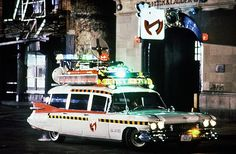 in 1989 during the production of Ghostbusters II. Original Ghostbusters, Ghostbusters The Video Game, Extreme Ghostbusters, The Real Ghostbusters, The Batman Superman Movie, A Team Van, Badass Movie, Laurel And Hardy, Ghost Busters